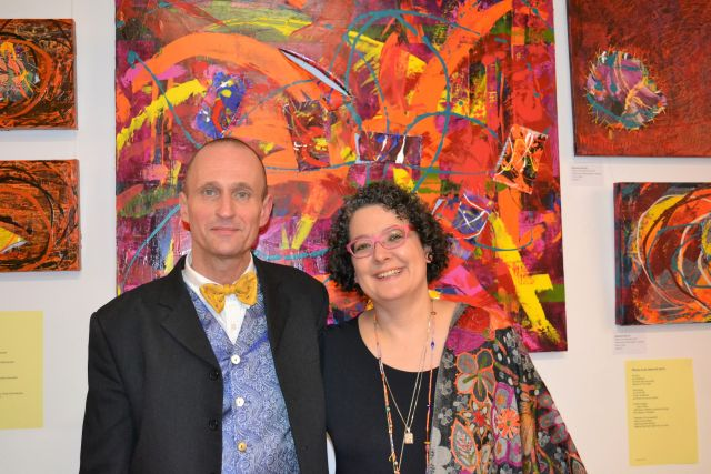 "Schnappschuss Event ""Paintings and Poems"" 0053 – © Hergen von Huchting"
